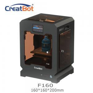 China Metal Frame Creatbot F160 Peek 3d Printter Single Extruder 3d Printer 160*160*200mm wholesale