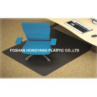 China Scratch-resistant Hard Floor Protectors For Chairs Black Color wholesale