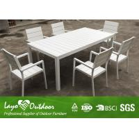 China White Color Customized Factory Latest Design Patio Outdoor Furniture Hot Sale Cafe Table Chair Set on sale