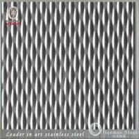 China Manufacturer 1219*2438mm Embossed Stainless Steel Sheet For Outdoor Decoration Engineering Works