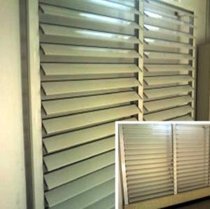 China Blind / Shutter Industrial Aluminum Profile , Louver / Jalousie Extrusion Profiles wholesale