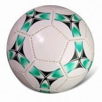 China Soccer Ball, Made of PVC, Customized Logos are Accepted wholesale