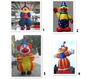 inflatable clown (dxw-0428)