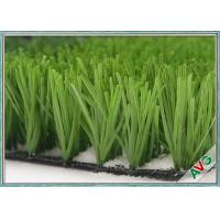 60mm Pile Height Football Synthetic Turf / Artificial Grass FIFA 2 Standard