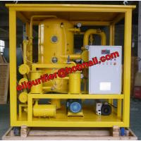 China New Sale Transformer Oil Degas, Used Oil Purifier, Oil Dehydration and Recycle Unit with double vacuum chamber booster on sale