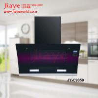 China 90cm kitchen chimney gas range hood with remoted control JY-C9058 on sale