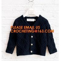 China Comfortable sweater children knitwear boys cardigan manufacturers, Boy Thick Clothing Kids Winter Sweater Coats With Fle wholesale