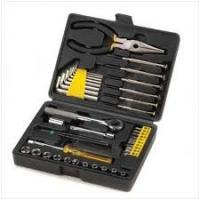 China 2PCS 6 x 100 Handle screwdriver Home-use gifts Hand Complete Tool Box Set on sale