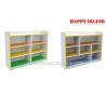 China Kids School Furniture Melamine Board Storage Cabinet For Kindergarten Kids wholesale
