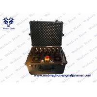Buy cheap 8 Channels Bomb Signal Jammer , 24V Cell Phone Blocking Device For Police from wholesalers