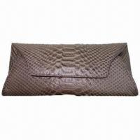 China Trendy croco clutch purse with inside credit cards slots wholesale