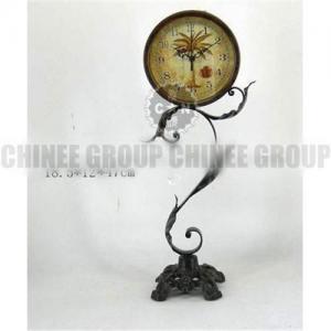 China Metal table clock wholesale