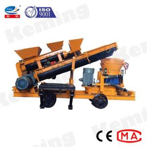 China Self Loading 7.5kW Spraying Wet Mix Shotcrete Machine wholesale