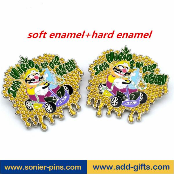 ADDGIFTS custom lapel pins zinc alloy badges enamelpin with factory price