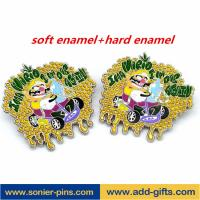 Buy cheap ADDGIFTS custom lapel pins zinc alloy badges enamelpin with factory price from wholesalers