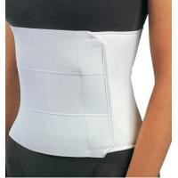 China Post Op Elastic Abdominal Binder Back Spine Brace With 3 Panel Construction on sale