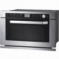 34L Microwave Oven in Drop Down Door Type, with Built-in Grill ...