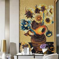 China MB SMM11-A Luxurious Design Handmade Tile Murals Golden Mosaic Tile For Living Room on sale