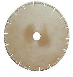 China Vacuum Brazed Diamond Concrete Cutting Blades Suitable For Bridge / Hand Saw wholesale