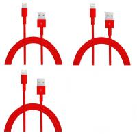 China colorful USB to 8PIN Charging and Data sync cable cord for 5 5s 5c iPod Touch 5 Red wholesale
