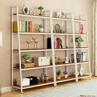China Industrial Wood And Metal Shelves , Heavy Duty Metal Steel Iron And Wood Bookcase on sale
