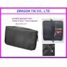 China Portable passport case with key holder, zipper card bag, nylon passport bag wholesale