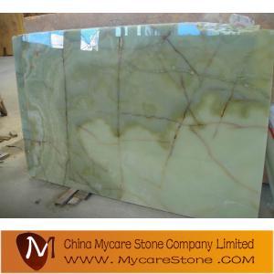 China Green onyx slab wholesale