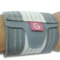 China Wrist Support, Made of Elastic and Nylon, Adjustable wholesale