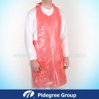 China Disposable Medical White Plastic LDPE/HDPE Apron Surgical Use wholesale