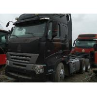 China HOWO 6X4 420 Hp Used Truck Tractor 280 - 420hp Horsepower With Left Hand Drive wholesale