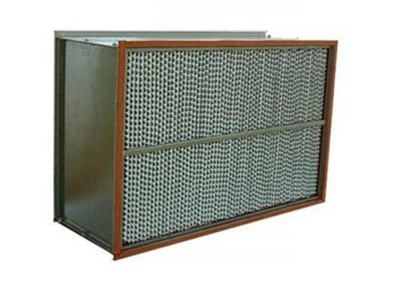 Quality H13 H14 Hepa Filter Efficiency For Food Industry High Dirty Capacity for sale