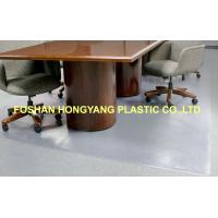 Buy cheap High - lifetime PVC Material Non Studded Chair Mat 600x 2400 mm from wholesalers