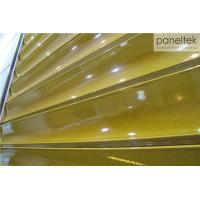 Wave Shaped Terracotta Wall PanelsNon - Flammable For Architectural Construction