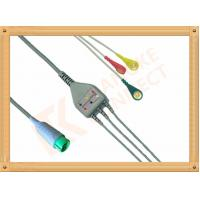 Buy cheap Fukuda Denshi ECG Patient Cable 3 Leads Snap IEC Insulated from wholesalers