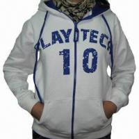 China Women's hoodies with printing on the front and back on sale