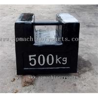 China 500Kg High Denominational Cast Iron Rectangular Suitable For Lifting&Stacking Test Weight wholesale