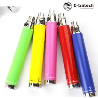 China 1300mAh Green Ego Twist Battery Varible Voltage With 420mAh USB Charger on sale