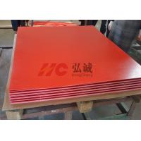 China Flame Resistant Red Laminate Sheet High - Flexural And High - Impact Strength wholesale