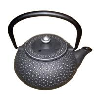China 300ml cast iron teapot/tetsubin with tortoise shell pattern on sale