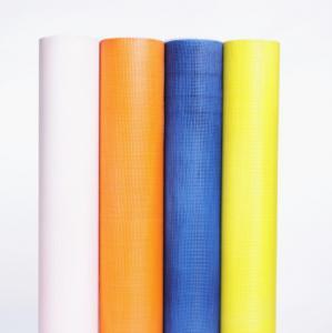 China 160g 4*4mm Alkaline Resistant Fiberglass Mesh Fabric For Concrete wholesale