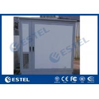 China Double Bay Air Conditioner Cooling Outdoor Telecom Enclosure IP55 With Two Doors wholesale