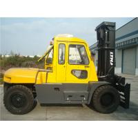 Diesel Powered Forklift 12 Ton , Container Mast Forklift  With Fork Positioner
