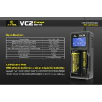 China The authentic XTAR VC2 LCD Intelligent lithium batttery testing battery capacity for e cig wholesale