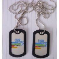 China machine printing dog tag wholesale