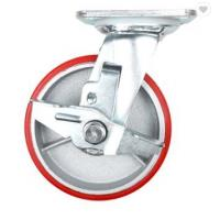 China 10 Inch 12 Inch Iso Shipping Container Casters 5 Ton High Load Capacity on sale