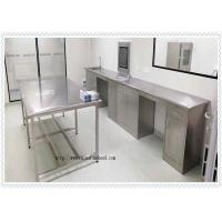 China Coating 304 Stainless Steel  Lab Furniture  / SS Work Table High Performance wholesale
