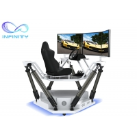 China Theme Park Competition 9D 3D Full View Vr Car Driving Simulator wholesale