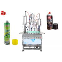 Buy cheap Semi Automatic Aerosol Can Filling Equipment from wholesalers