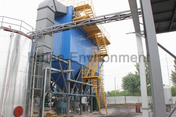 Quality Bag Filter Housing Dust Collector Up to 30mg Gas Dust Treatment Solution for sale