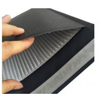 Buy cheap Black 9.5x11'' Custom Kraft Corrugated Envelopes 2 Sides Protection Heat Seal from wholesalers